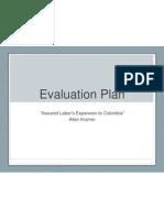 Evaluation Plan - Assured Labor's Expansion into Colombia - Kramer