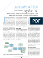 Testing Aircraft AFDX Systems