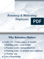 Retaining %26 Motivating Employees