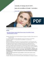 Corrupción en Colombia La contralora Abr 03 2011