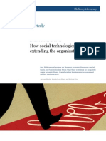 ASSGN 3 How Social Technologies Are Extending the Organization McKinsey Nov2011