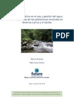 Agua y Clima America Latina