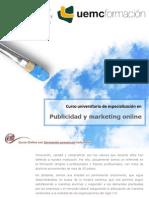 Curso universitario de especialización en publicidad y marketing Online