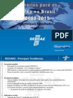 Cenários para as MPEs no Brasil