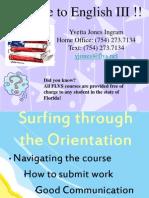 ENG 3 Orientation