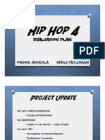 Evaluation Plan - Hip Hop 4 - Arreola Goldman