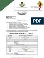 Informe 001- 2012-05 Poryect Menu Comedor