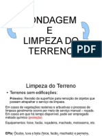 Sondagem e Limpeza Do Terreno