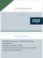 Evaluation Plan - iTeachCommunity - Khoo Leon