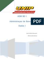 AdministraçãoBancoDados_I_Modelagem_Dados