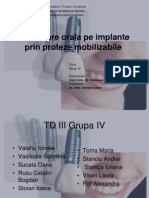 are Pe Implant Prin Proteze Mobilizabile