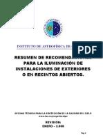 AIC Recomendaciones Alumbrado Publico
