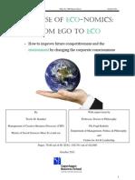 Ego to Eco Thesis