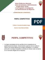 Matriz de Perfil Competitivo