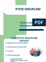 Assertive Behaviour