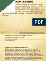 LICUEFACCION DE SUELOS