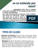 DISEÑO DE CLASES