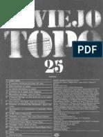 Cine y Guerra Civil - El Viejo Topo n25 [Octubre 1978]