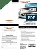 Ashdown Mag 300 Manual