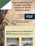 Superconductivity for Teachers Aug 9 Final