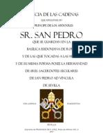 Las Cadenas de San Pedro
