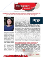 Tract Front de Gauche Brésil - Comité de soutien