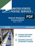 USPS  Network Webinar Presentation 5-17-2012