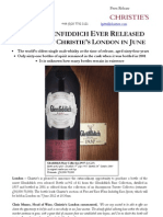 Rarest Glenfiddich Ever Released  on Offer at Christie's London in June