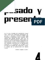 Pasado y Presente nº 4