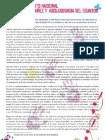 Manifiesto - Movimiento Nacional por la Niñez y Adolescencia del Ecuador -
