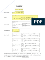 Formula Rio Di Analisi a