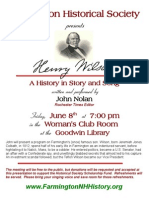Henry Wilson Presentation Poster 2012