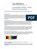 Infrared Thermography Testing - Going Beyond the Electrical Connection