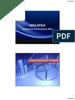 FDI Performance 2011 Slide