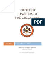 Office of Financial and Program Audit