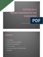 Monitoramento e Metricas No Facebook