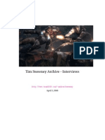Tim Sweeney Archive - Interviews
