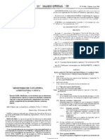 Decreto 25-998 M.G.a.P. - Norma Calidad TRIGO PAN