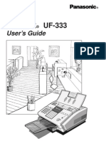Panafax UF 333