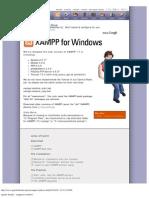 Apache Friends - Xampp for Windows