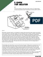 Build Solar Heater