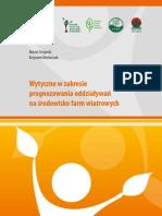 Wytyczne w zakresie prognozowania oddziaływań na środowisko farm wiatrowych