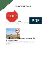 TRABAJO DE MATEMÁTICAS
