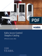 Kaa1026 Simplex Mechanical Push Button Lock Catalog