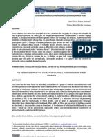 A heterogeneidade psicossociologica das crianças em situação de rua _ SANTANA E SAMPAIO