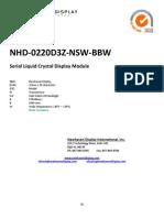 NHD-0220D3Z-NSW-BBW