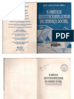 A Pratica Institucionalizada do Serviço Social
