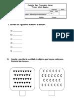Evaluación Unidad 3 Matemática
