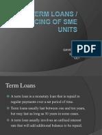 Term Loans Ppt 2003