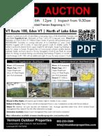 Eden Land Auction - Brochure